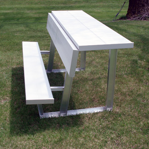 American Aluminum Seating Inc Benches